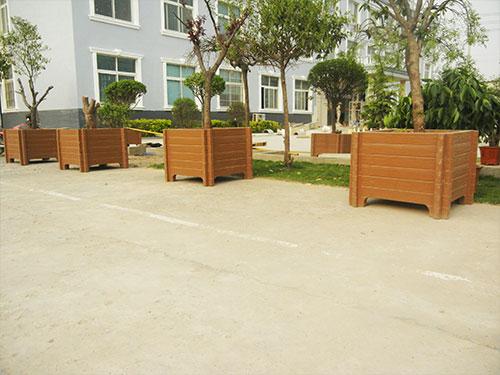 仿木花箱厂家-陕西省价格合理的防木花箱