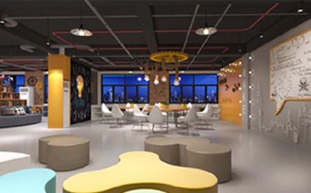 裝修餐飲店-酒店辦公室裝修-150平辦公室裝修
