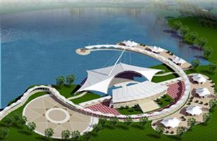 兰州景观膜结构|景观膜结构工程|公园膜结构