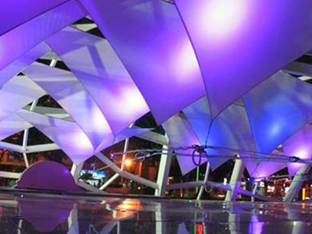 甘肃膜结构|商业设施膜结构工程|兰州舞台膜结构