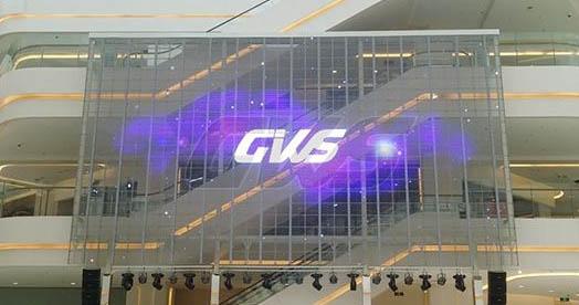 LED透明屏 全彩高清LED户外透明屏
