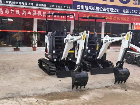 E17Z挖掘机售卖-山猫小型挖掘机物超所值