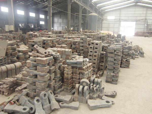 威海高铬耐磨板锤价格,供应山东锤头