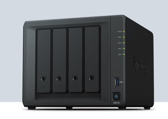 & 群晖 DS418数据备份存储服务器 山东代理