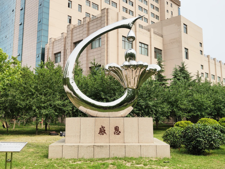 不锈钢镜光雕塑施工-上海不锈钢镜面雕塑-福建不锈钢镜面雕塑