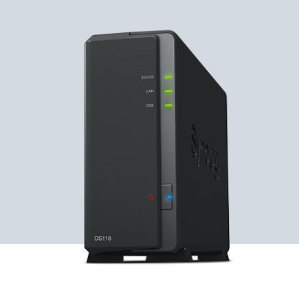 & 群晖 DS118数据备份存储服务器 山东代理