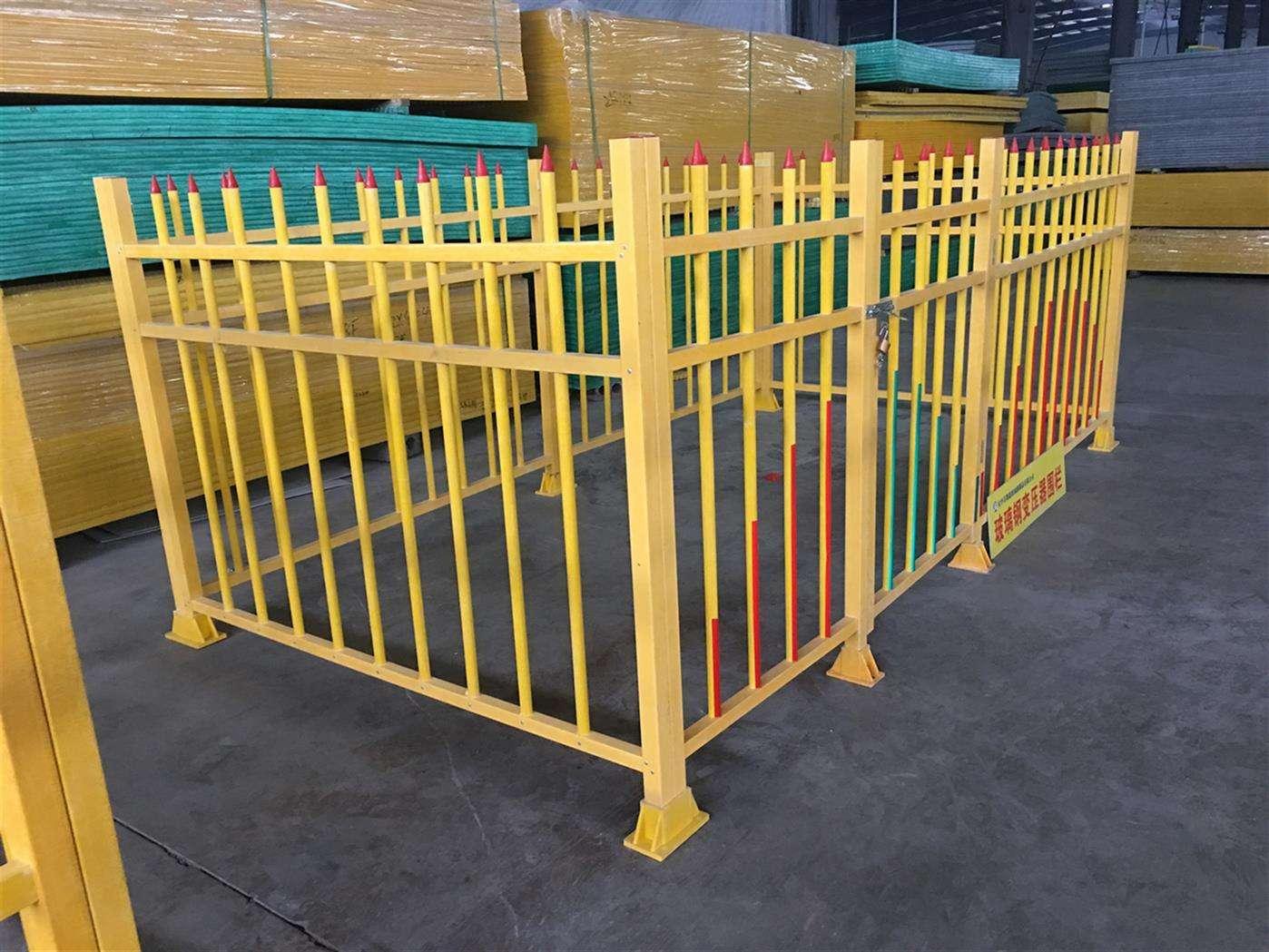 玻璃钢市政油田围栏