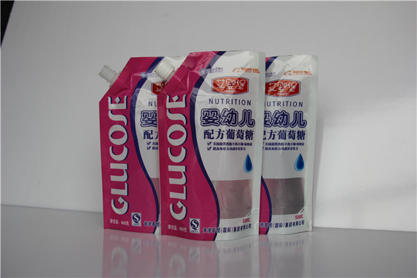 通用液体自立吸嘴袋豆浆吸嘴包装袋饮料果汁吸嘴袋塑料袋