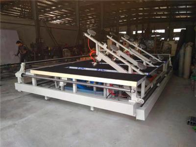 安徽半自动上片切割玻璃机|庚明机械新款的玻璃切割一体机出售