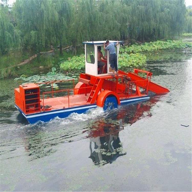 割草船厂家直销  山东割草船  小型割草船 全自动割草船