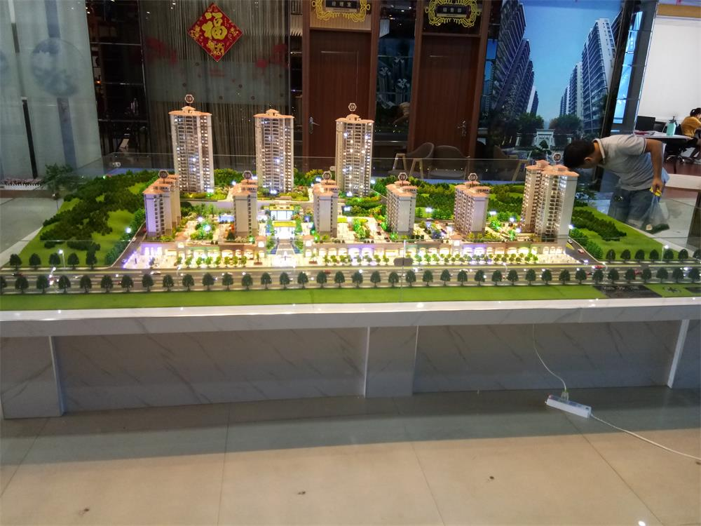 广西建筑模型公司_鑫晟达模型质量硬的南宁建筑模型出售
