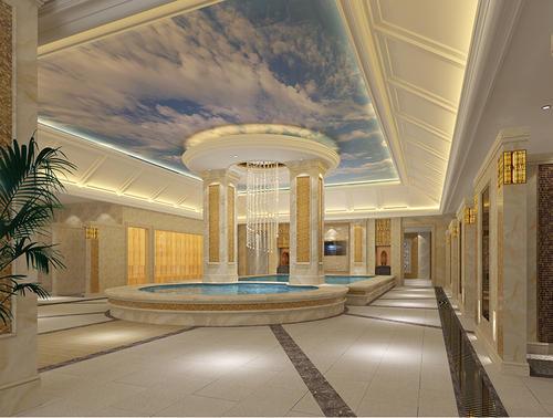 黑龍江溫泉設計裝修_合眾泳池設施更有保障-洗浴設計公司
