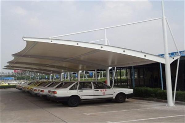 膜结构车棚定做-车棚加工-车棚生产