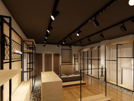 服装展示柜生产厂家-服装展柜订做价格-东莞展柜生产厂家
