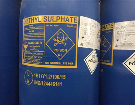 供应硫酸二乙酯印度原装货优级品