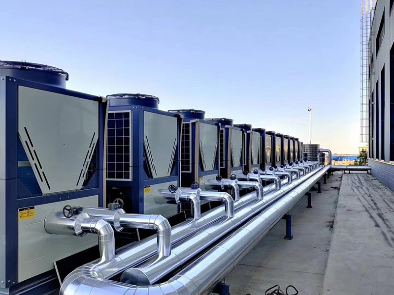 空气能热水机组-低环温空气能热泵-采暖热泵热水器选甘肃博源