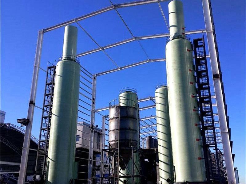 玻璃钢干式脱硫塔