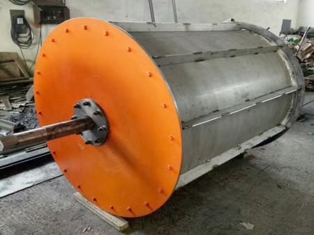 高强磁环式磁选机报价-垃圾回收式磁选机图片