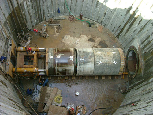 管道顶管自来水非开挖工程-顶管工程昆明市电缆管道施工