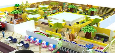 室内淘气堡定制_乐可岛游乐设备设施生产基地