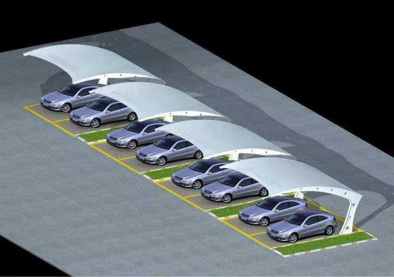 新疆膜结构停车棚