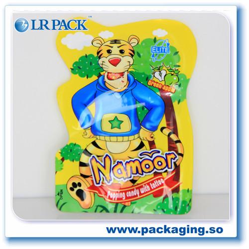 卡通烘焙袋子自封饼干牛轧糖雪花酥糖果零食品袋异型袋塑料密封袋