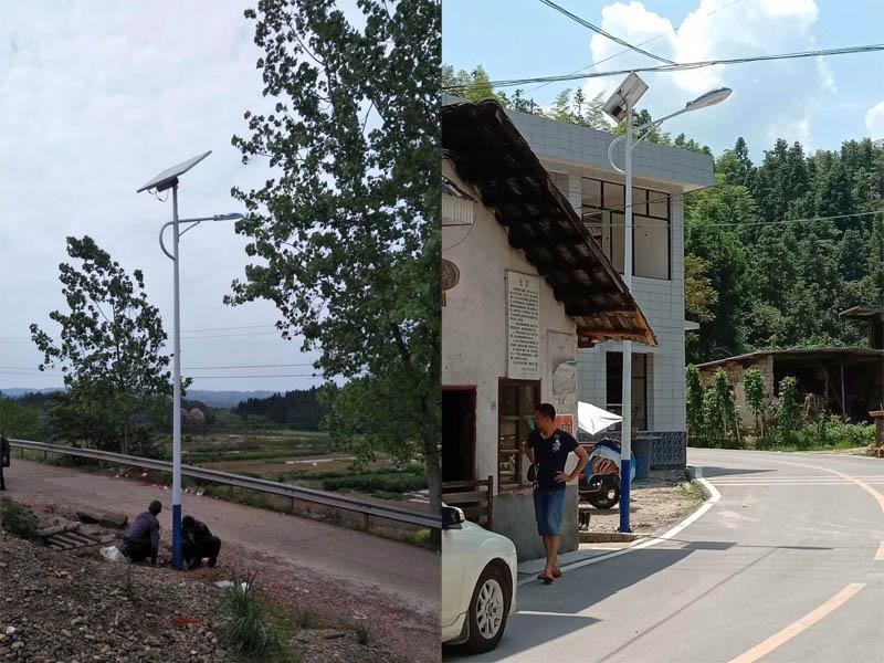 太阳能路灯摇控器怎么用-安顺农村路灯-毕节农村路灯