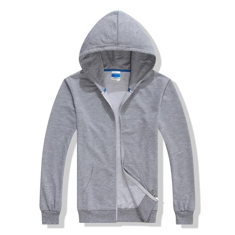 圆领卫衣定做-单色纯棉卫衣制服-制服单色纯棉卫衣厂家