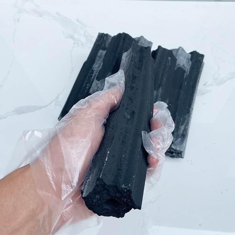 老北京铜锅涮肉专用炭  型炭 无烟耐烧铜锅涮肉木炭