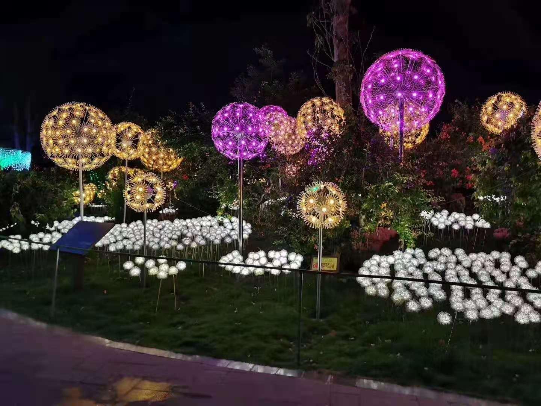 民俗稻草工艺-聊城市大型灯光节订做-聊城市大型灯光节生产