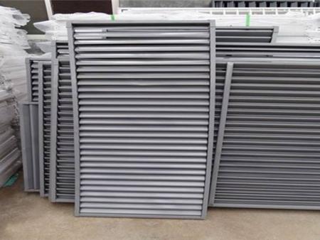 空調百葉窗生產-山東信譽好的鋁合金百葉窗供應商