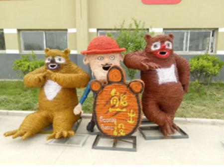 草雕-沭阳县卡通稻草人公司-泗洪县卡通稻草人