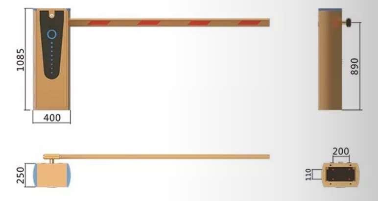 采购梧州直杆道闸一体机-广东新式的梧州直杆道闸一体机