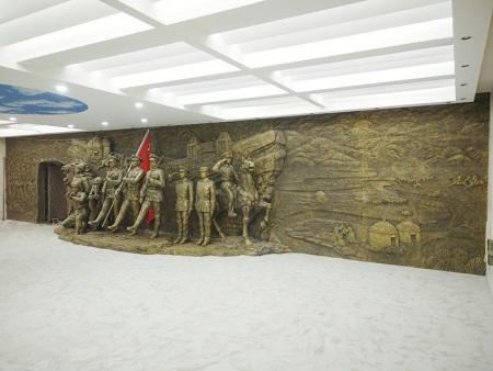 玻璃钢雕塑施工厂家-安徽雕塑-天津雕塑