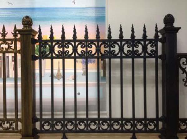 铝艺栏杆公司-铝艺栅栏设计-铝艺栅栏安装