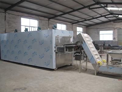 杏核带式烘干机-坚果带式烘干机加工-坚果带式烘干机生产