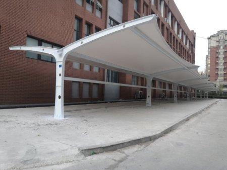 大型膜结构遮阳棚加工-膜结构汽车棚价格-膜结构汽车棚生产厂家
