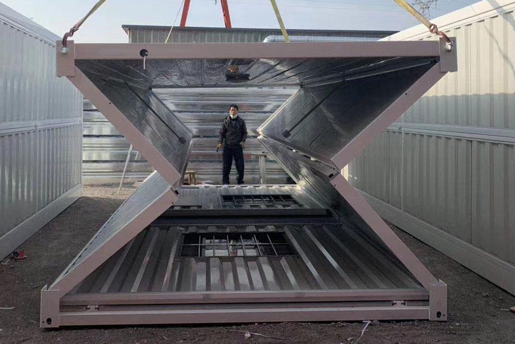 折叠集装箱专利-折叠式集装箱制造公司-折叠式集装箱制造商