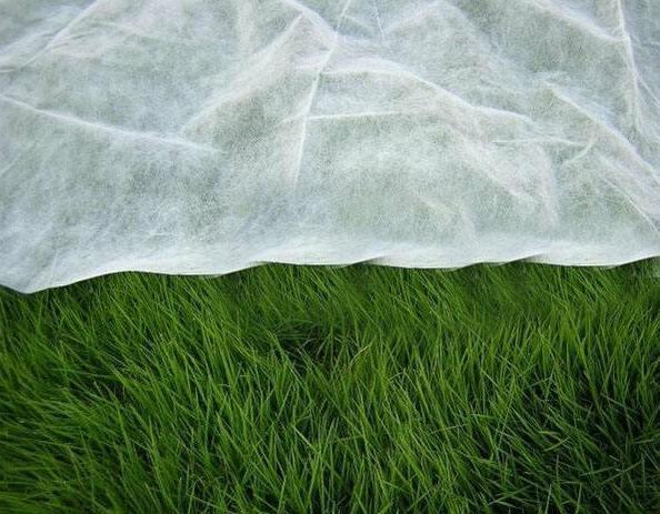淋膜防草布