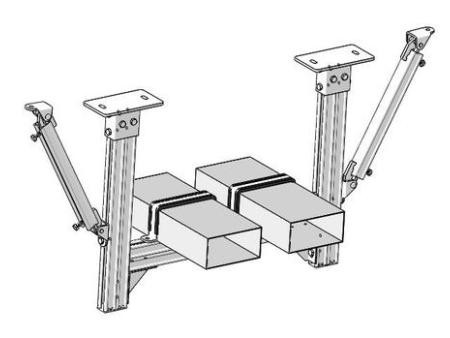 抗震支吊架-銅川抗震支架生產廠家-銅川抗震支吊架生產廠家