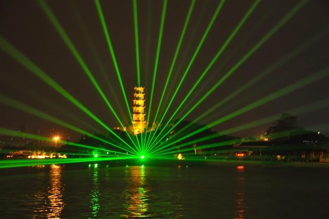 彩色激光燈
