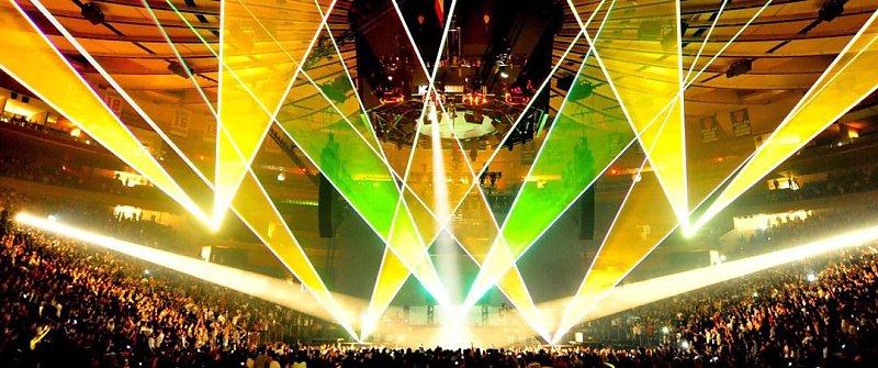 單綠激光燈