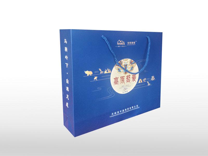 兰州纸盒手提袋定制-买划算的纸盒手提袋包装-就到鸿兴彩艺包装公司