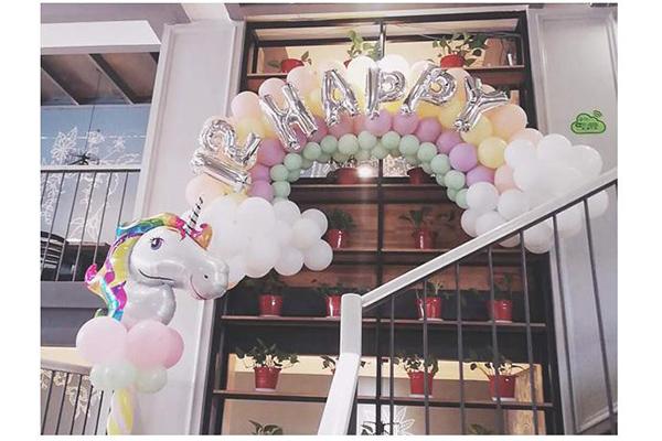 周歲宴策劃公司-膠南周歲宴派對策劃-膠南周歲宴氣球派對