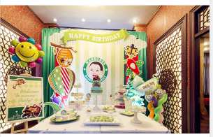 周岁生日派对设计-平度周岁生日派对布置-平度周岁生日派对气球