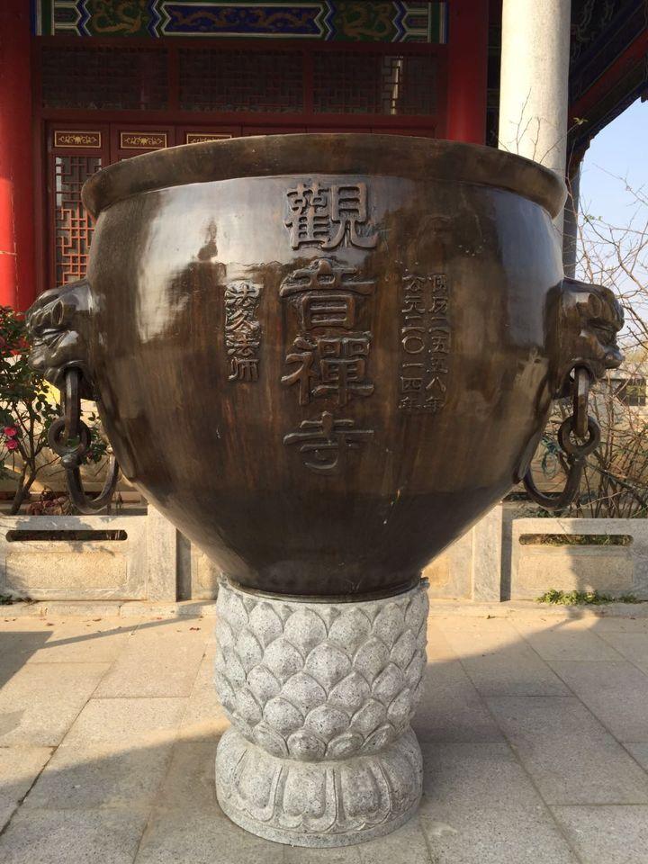 定制寺廟銅缸仿古銅缸