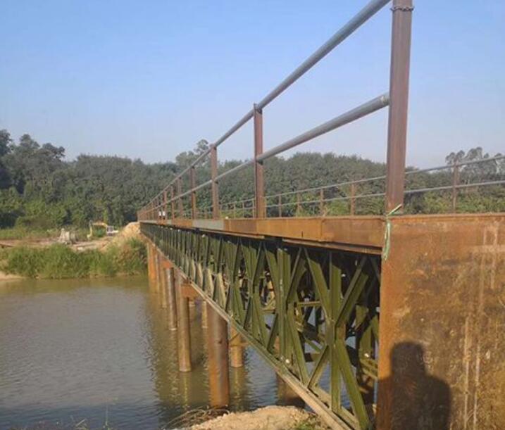 海口钢便桥案例-海nan优良海nan钢便桥供应商是哪jia