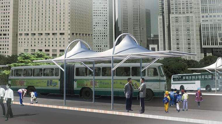 交通設施膜結構定制-供應山東耐用的交通設施膜結構