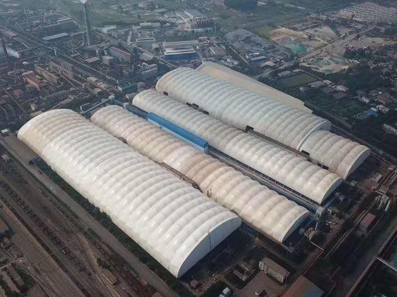 膜结构煤棚