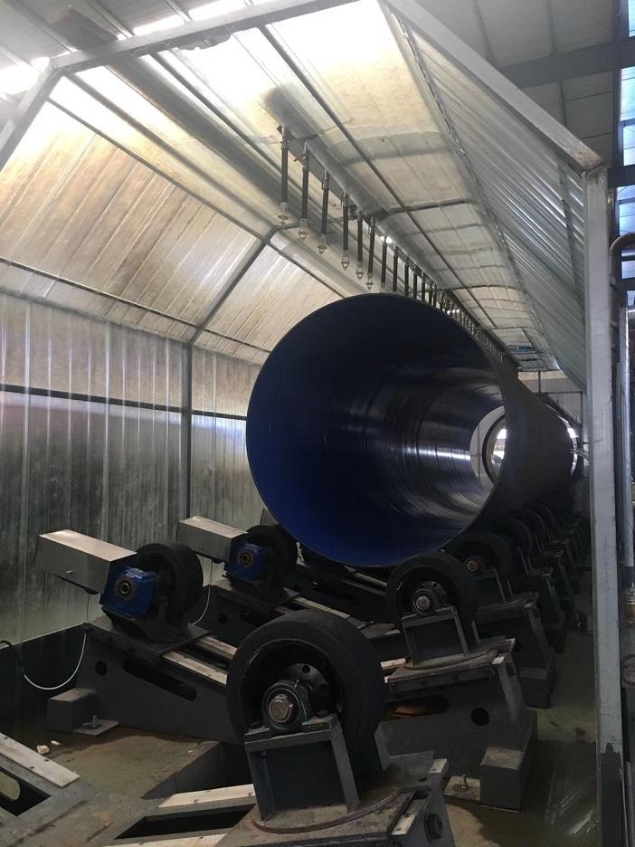 钢管3PE设备,3pe防腐设备生产线,青岛华特防腐保温设备